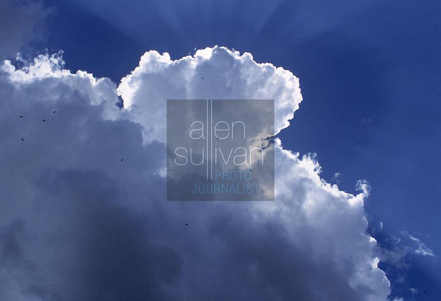 Clouds over Atlanta, Georgia, 1994