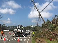 2017 FPL Hurricane Irma damage in Naples, Fla. on Sept. 15, 2017.