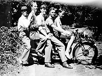 BNPS.co.uk (01202 558833)<br /> Pic: SusanBond/BNPS<br /> <br /> Susan Bond's father and his brothers with their father Henry(left) - two of the brothers were killed during the war.<br /> <br /> Military museum in hot water over missing medals..<br /> <br /> A woman whose father and grandfather donated their highly-valuable gallantry medals to an army museum is furious they have disappeared having been suspiciously substituted for duplicates.<br /> <br /> Susan Bond, whose husband Richard is a retired crown court judge, discovered the two Military Cross groups at the The Royal Green Jackets Museum are not the ones bequeathed to them after one set appeared on the open market.<br /> <br /> Mrs Bond confronted the trustees at the museum, whose former Colonel-in-Chief was the Queen, but the 70-year-old has been left dismayed at their 'indifferent' response at the loss which they have been unable to properly explain.<br /> <br /> The owners - the museum based in Winchester, Hants - said they were satisfied that no criminal activity had taken place and the police investigation came to nothing.