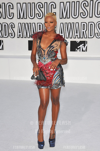 Eva Pigford at the 2010 MTV Video Music Awards at the Nokia Theatre L.A. Live in downtown Los Angeles..September 12, 2010  Los Angeles, CA.Picture: Paul Smith / Featureflash
