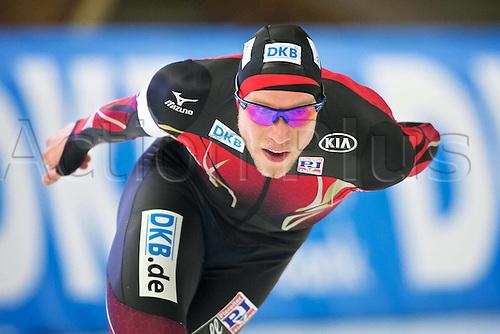 05.03.2016. Berlin Germany. World Championships of Speed skating. 5000 mens Moritz Geisreiter (GER)