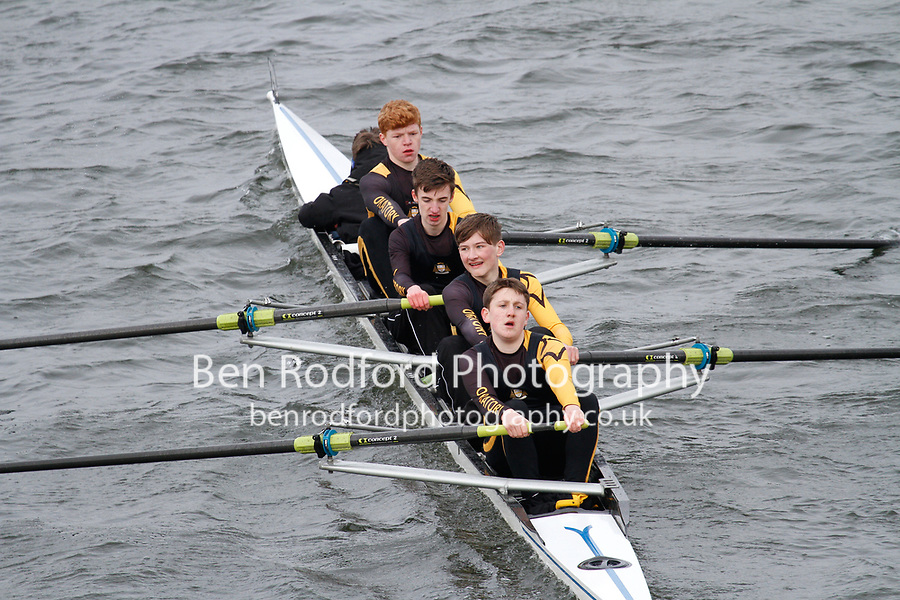 Crew: 294  Oratory Sch  Event: Junior Fours<br /> <br /> Schools' Head of the River 2017<br /> <br /> To purchase this photo, or to see pricing information for Prints and Downloads, click the blue 'Add to Cart' button at the top-right of the page.