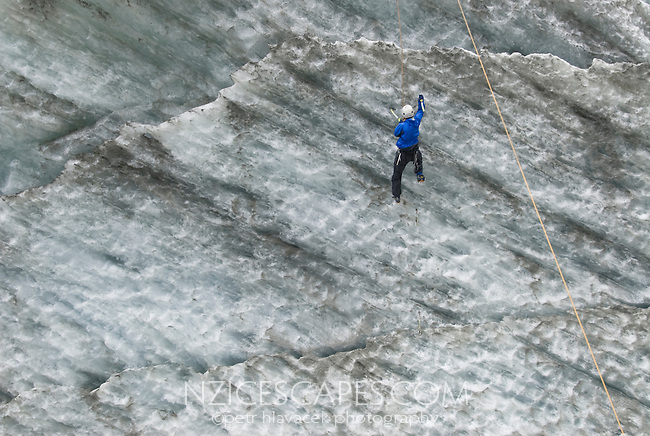 Ice Climbing on the Franz Josef Glacier - Westland National Park