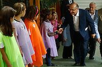 SÃO PAULO, SP, 02.12.2016 - DENGUE-SP . O Governador Geraldo Alckmin durante  evento de lançamento da campanha contra a dengue, na escola Alcides da Costa Vidigal, no Butantã, zona oeste de São Paulo, na manhã desta sexta-feira, 02.(Foto: Adriana Spaca/Brazil Photo Press)