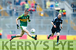 Diarmuid O'Connor Kerry in action against  Cavan in the All Ireland Minor Semi Final in Croke Park on Sunday.