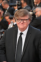 CANNES, FRANCE. May 25, 2019: Michael Moore at the Closing Gala premiere of the 72nd Festival de Cannes.<br /> Picture: Paul Smith / Featureflash