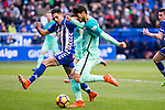 FC Barcelona's midfielder Andre Gomes in action  during the match of La Liga between Deportivo Alaves and Futbol Club Barcelona at Mendizorroza Stadium in Vitoria, Spain. February 11, 2017. (ALTERPHOTOS/Rodrigo Jimenez)