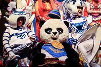 SÃO PAULO, SP 17.01.2019: CIRCO DA CHINA-SP - Coletiva de imprensa e passagem de alguns números do espetáculo China Esplêndida, com a tradicional trupe de acrobatas Shenyang Acrobatic Troupe do Circo da China, no Credicard Hall, zona sul da capital. As apresentações acontecerão entre os dias 17 e 27 de janeiro. (Foto: Ale Frata/Codigo19)