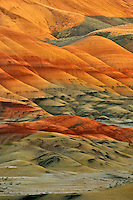 Painted Hills in John Day Fossil Beds National Monument in Oregon