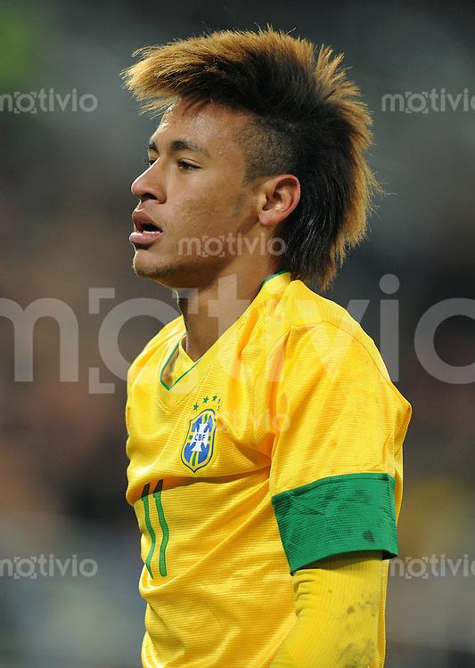 FUSSBALL INTERNATIONAL   Freundschaftsspiel  28.02.2012 Brasilien - Bosnien-Herzegowina Neymar (Brasilien)