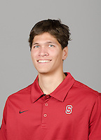 STANFORD, CA - September 27th, 2011: Stanford Volleyball Volunteer portrait.