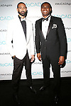 James Bartlett and Kevin Johnson attend The Museum of Contemporary African Diasporan Arts (MoCADA) celebrate its 16th anniversary of serving the community through the arts with its 2nd annual MoCADA Masquerade Ball Held at Brooklyn Academy of Music (BAM) Lepercq Ballroom