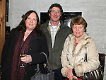 Valerie Smith and Paddy and Mary Lynn pictured at Mary Brennan's Silversmith workshop and gallery at Old Coach road Dunleer. Photo: Colin Bell/pressphotos.ie