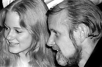 Bob Fosse and daughter Nicole Fosse 1978<br />