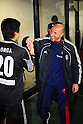 Ranko Popovic (FC Tokyo),.MARCH 17, 2012 - Football / Soccer :.F.C.Tokyo head coach Ranko Popovic (R) celebrates with Shuichi Gonda after the 2012 J.League Division 1 match between F.C.Tokyo 3-2 Nagoya Grampus Eight at Ajinomoto Stadium in Tokyo, Japan. (Photo by AFLO)