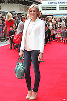 Jenni Falconer arriving for the Postman Pat Premiere, Odeon West End, London. 11/05/2014 Picture by: Alexandra Glen / Featureflash