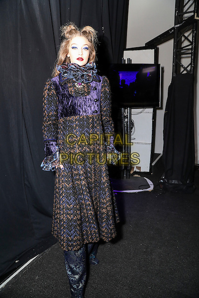 ANNA SUI<br /> New York Fashion Week FW 17 18<br /> in New York, USA February 2017.<br /> CAP/GOL<br /> &copy;GOL/Capital Pictures