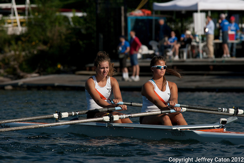 17/08/12 9:30:56 AM Ontario Summer Games Athletes compete in rowing at Marilyn Bell Park ---Toronto, ON, Canada:  Photo by Jeffrey Caton