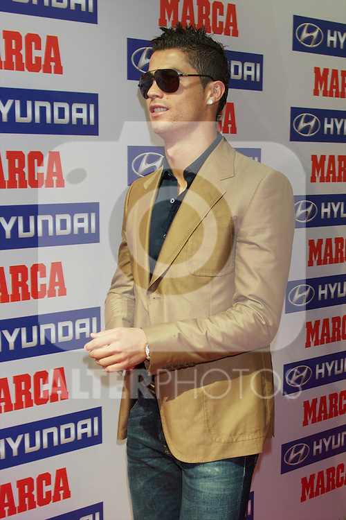 Premios Marca del Futbol 2011. Cristiano Ronaldo Pichichi award (best scorer)...Photo: Cesar Cebolla / ALFAQUI