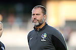 20 September 2014: Cosmos head coach Giovanni Savarese (VEN). The Carolina RailHawks played the New York Cosmos at WakeMed Stadium in Cary, North Carolina in a 2014 North American Soccer League Fall Season match. Carolina won the game 5-4.