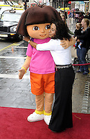 London - Red Carpet arrivals at the Celebrity & Press Performance of Nickelodeon's 'Dora the Explorer' at the Apollo Theatre, Shaftesbury Avenue, London - August 29th 2012..Photo by Bob Kent