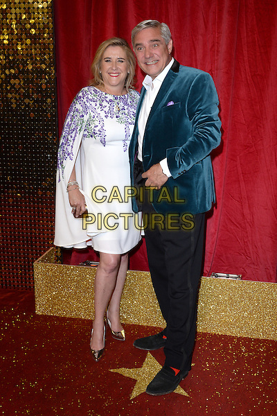 LONDON, ENGLAND - MAY 28: Stephanie Parker and Dominic Parker attend the British Soap Awards 2016 at Hackney Town Hall on May 28, 2016 in London, England.<br /> CAP/BEL<br /> &copy;BEL/Capital Pictures