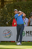 Jon Rahm (ESP) watches his tee shot on 12 during round 2 of the World Golf Championships, Mexico, Club De Golf Chapultepec, Mexico City, Mexico. 2/22/2019.<br /> Picture: Golffile | Ken Murray<br /> <br /> <br /> All photo usage must carry mandatory copyright credit (© Golffile | Ken Murray)