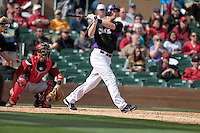 Reid Bridnac  of Rockies  ,during   Colorado Rockies vs Arizona Diamondbacks, game of  Cactus league and Spring Trainig 2013..Salt River Fields stadium in Arizona. February 24, 2013