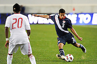 Danny Zaid (3) of the USA. The USMNT U-17 defeated New York Red Bulls U-18 4-1 during a friendly at Red Bull Arena in Harrison, NJ, on October 09, 2010.