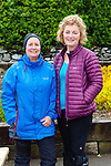 Miriam Murphy and Joan Lucey at the Eileen Cronin memorial climb of Carrauntoohil on Monday