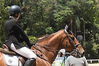 SÃO PAULO, SP,19.02.2017 – HIPISMO-SP - Participantes na 2ª Etapa Torneio de Verão e 1ª Copa Cavalos Novos – CHSA , na Hipica Santo Amaro, zona sul de São Paulo, na manhã deste domingo (19). (Foto: Darcio Nunciatelli / Brazil Photo Press)