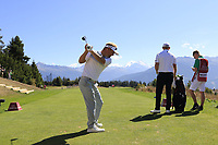 Soren Kjeldsen (DEN) on the 7th tee during Sunday's Final Round 4 of the 2018 Omega European Masters, held at the Golf Club Crans-Sur-Sierre, Crans Montana, Switzerland. 9th September 2018.<br /> Picture: Eoin Clarke | Golffile<br /> <br /> <br /> All photos usage must carry mandatory copyright credit (&copy; Golffile | Eoin Clarke)