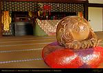 Mokugyo Wooden Fish, Shoin Drawing Hall, Tenryuji Heavenly Dragon Temple, Kyoto, Japan