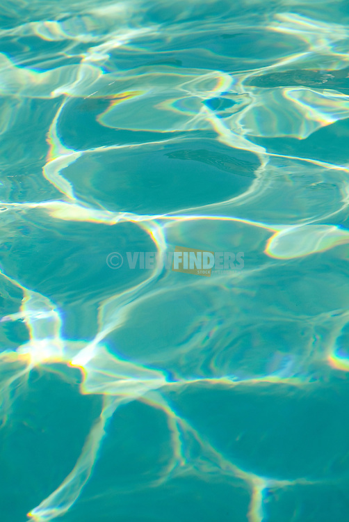 Detail of light reflecting in a swimming pool