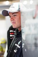 SPA FRANCORCHAMPS, BELGICA, 31 AGOSTO 2012  - F1 - GP DA BELGICA - O piloto alemao Nico Rosberg durante segundo dia de treinos livres para o GP da Belgica que acontece no proximo domingo. (FOTO: PIXATHLON / BRAZIL PHOTO PRESS).