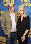 Christopher Ashley and Kelly Devine attends the press day for Broadway's 'Come From Away' at Manhattan Movement and Arts Center on February 7, 2017 in New York City.