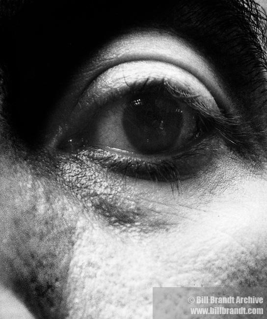 Antonio Tapies eye 1964
