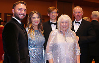 NWA Democrat-Gazette/CARIN SCHOPPMEYER Karen Inlow (second from right) is joined by her family Adam and Shelby Reynolds (from left), Lee Inlow and Jeff Inlow. The Charles and Karen Inlow family were honored as th Outstanding Philanthropic Family by the foundation.