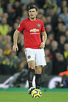 Harry Maguire of Manchester United during the Premier League match between Norwich City and Manchester United at Carrow Road on October 27th 2019 in Norwich, England. (Photo by Matt Bradshaw/phcimages.com)<br /> Foto PHC/Insidefoto <br /> ITALY ONLY