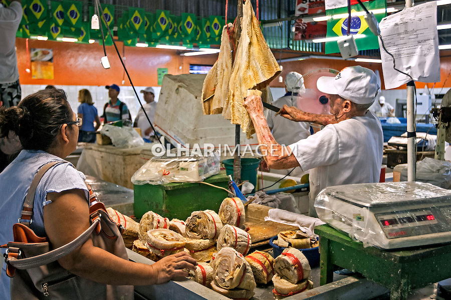 Mercado do Porto de Manaus. Amazonas. 2015. Foto de Ubirajara Machado.