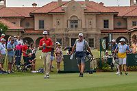 Zach Johnson (USA) heads down 1 during round 3 of The Players Championship, TPC Sawgrass, at Ponte Vedra, Florida, USA. 5/12/2018.<br /> Picture: Golffile | Ken Murray<br /> <br /> <br /> All photo usage must carry mandatory copyright credit (&copy; Golffile | Ken Murray)
