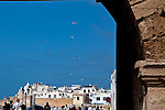 The old medina of Essaouira as it is today.