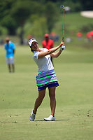 Marina Alex (USA) in action on the 16th during Round 4 of the HSBC Women's World Championship 2018 at Sentosa Golf Club on the Sunday 4th March 2018.<br /> Picture:  Thos Caffrey / www.golffile.ie<br /> <br /> All photo usage must carry mandatory copyright credit (&copy; Golffile | Thos Caffrey)