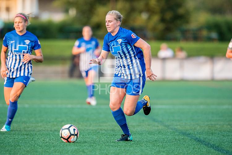 Boston, MA - Sunday September 10, 2017: Natasha Dowie during a regular season National Women's Soccer League (NWSL) match between the Boston Breakers and Portland Thorns FC at Jordan Field.
