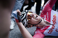Mathieu Van Der Poel (NED/Correndon-Circus) WINS the 54th Amstel Gold Race 2019 (1.UWT)<br /> <br /> One day race from Maastricht to Berg en Terblijt (NED/266km)<br /> <br /> ©kramon