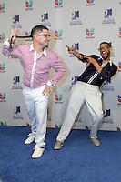 MIAMI, FL- July 19, 2012:  Randy y Jowell backstage at the 2012 Premios Juventud at The Bank United Center in Miami, Florida. ©Majo Grossi/MediaPunch Inc. /*NORTEPHOTO.com* **SOLO*VENTA*EN*MEXICO** **CREDITO*OBLIGATORIO** *No*Venta*A*Terceros* *No*Sale*So*third* ***No*Se*Permite*Hacer Archivo***No*Sale*So*third*©Imagenes*