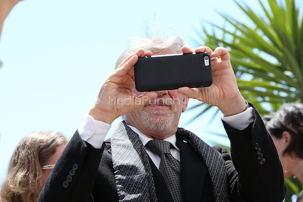 CANNES, FRANCE, MAY 14: Director Steven Spielberg at 'The BFG' photocall during the 69th Annual Cannes Film Festival on May 14, 2016 in Cannes, France.<br /> CAP/GOL<br /> &copy;GOL/Capital Pictures /MediaPunch ***NORTH AND SOUTH AMERICA ONLY***