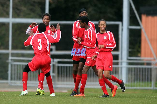 SANTLEY ATHLETIC v DANSON SPORTS<br /> LONDON FA U15 SUNDAY CUP FINAL SUNDAY 22ND MARCH 2015 MILE END STADIUM