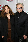 Daphna Kastner, Harvey Keitel attend the Broadway Opening Night Performance of 'War Paint' at the Nederlander Theatre on April 6, 2017 in New York City