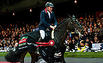John Whitaker of United Kingdom riding Argento in action at the Gucci Gold Cup during the Longines Hong Kong Masters 2015 at the AsiaWorld Expo on 14 February 2015 in Hong Kong, China. Photo by Juan Flor / Power Sport Images